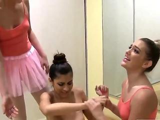 Skinny teen cock Ballerinas