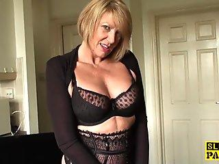 Jane Doux in When Father Is Away Stepmom Will Play