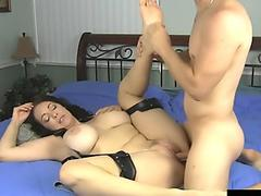 Big Tit MILF Charlee Chase Foot Tickled and Fucked!