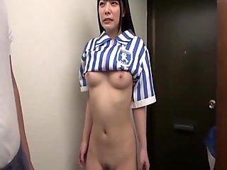 young wife blowjob at Hospital