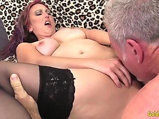 Golden Slut - Eating Mature Pussy Compilation Part 3