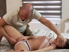 Chubby daddy bear and old young pussy licking She didn t quite catch what s going on, - Anita B