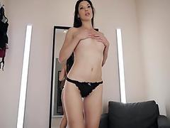 Horny Secretary Alexa Tomas Fucks Her Gaped Butthole