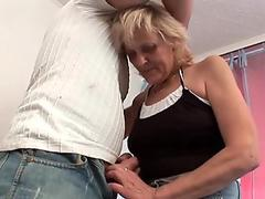 Lesbian woman gets young girl