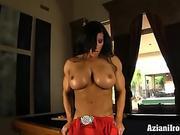 Angela Salvagno milking