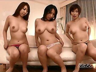 Japanese Trio Masterbation