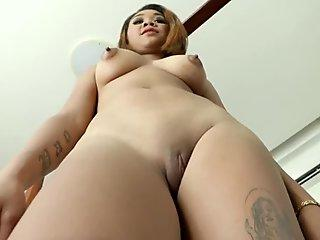 i get fucked in ass, cucumber and cum on