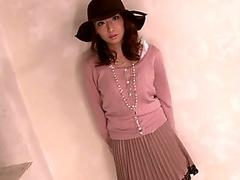 Cumdrenched japanese teen doggystyled hard