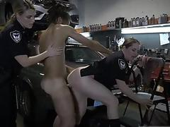 Japanese prison girl Meina gets her pussy banged