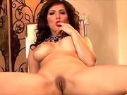 wondrous lady Sunny Leone In crimson Bikini Doing Blow job