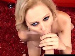 luxurious huge-titted Milf Julia Ann Gives Hot Blowjob & hj!