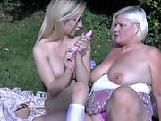 NastyPlace.org - Mother & Stepson fuck next to Dad