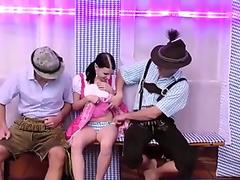 real anal lederhosen oktoberfest groupsex orgy by XMILF.US