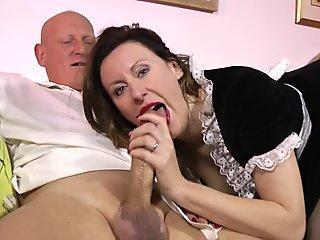 Sweet Sucker In Shaft Licking Action