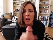 Squirted - Tattoed alt Rocky Emerson squirts on big dick