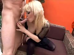 STEPMOM CATCHES SON PLAYING