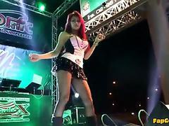 Coyote dance Girls 2014 Bangkok Thailand