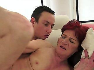 Bums Bus - Hot German Redhead Hardcore Fucking In The Sex Bus