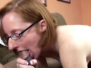 Horny housewife Layla Redd is swallowing a stiff dick
