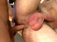 Messy anal drilling