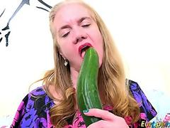 Enchanting petite kitten gets her narrowed honey pot and small anal plowed