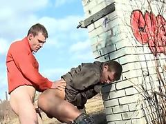 Sex ends with giant cum