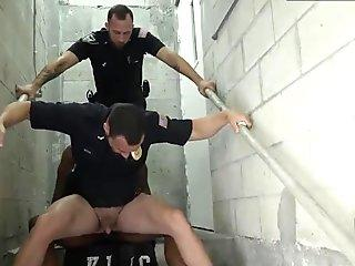 Dubai gay sex massage boy Fucking the white police with some
