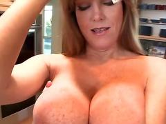 chesty ginger-haired pov tugs