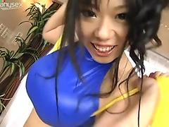 Wife tied in bed with vibrator in pussy