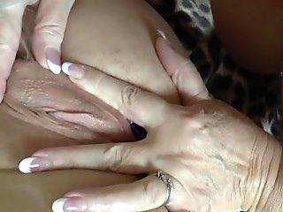 Skinny amateur ladyboy playing with herself