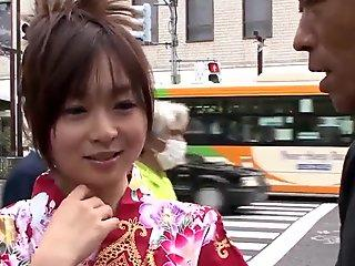 Nozomi Hazuki gets picked up and filmed when romping - More at 69avs com