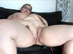 Hot babe on a Leash Hard Facefuck with Massive Cum Load