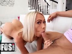 MOFOS - Skinny small tit blonde Sky Pierce fucks POV