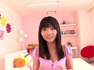 Nasty Asian slut Lucky Starr slammed hard by a big black cock