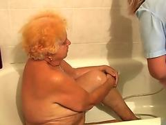 Jasmine Rouge drinks a load of squirt juice