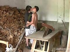 Hung Twinks Patrik and Olin Bareback