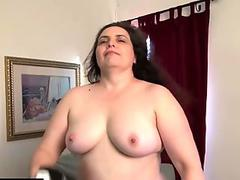 Ladyboy blowjobs in POV and pumps her girl pole into cumshot