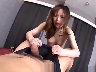 Japanese beauty Aiko Hirose in well office sex