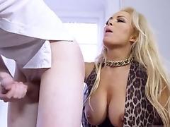 My wife alone at home masturbates