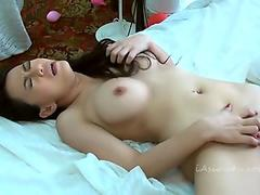 Hot Thai girls licking and fucking each other
