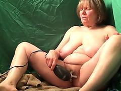 Spectacular milf banged in her appetizing pinkish vulva