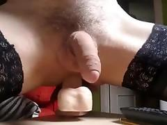 Cd playing with dildo
