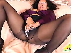 splendid stepmom in underwear seducing stepson