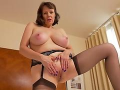 Mature mom Tigger with massive natural hooters and amazing assets