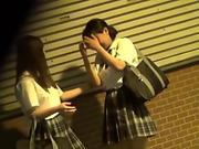 Japanese lez tongues vag