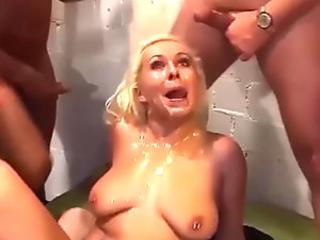 huge-boobed german cougar extreme group poked