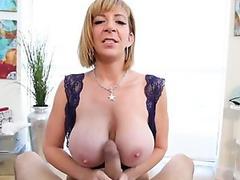 BBC Slut Carmen Valentina Milks That Cock!
