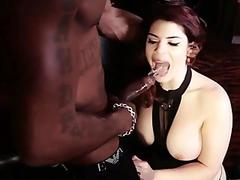 Meaty Lucia Love Fucks A Big Black Stud Up Her Ass And Around The Corner