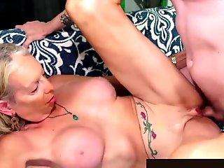 Golden Slut - Stunning Mature Blondes Getting Drilled Compilation Part 3