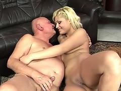 GrandpasFuckTeens Young Babe Fucks with a Grandpa she Met at the Bus Stop